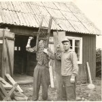 Gordon and Jørgen Nash at Drakabygget
